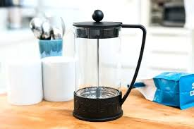 replacement glass french press coffee maker compact size household use stainless