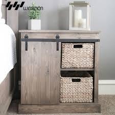 Sliding Barn Door Hardware Wood Door Closet Cabinet Track Kit Mini ...