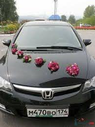 85 Pretty Wedding Car Decorations Diy Ideas | Wedding car decorations,  Wedding car, Car decor
