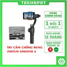 HÀNG CHÍNH HÃNG - Zhiyun Smooth 4 – Tay cầm gimbal chống rung