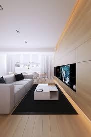 Tv Living Room Design Meuble Tv Contemporain En Bois Racalisac Sur Mesure Dans L
