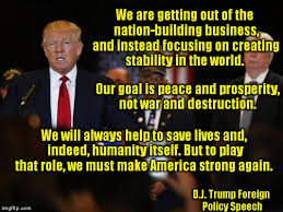 Image result for trump foreign policy