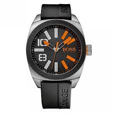 buy boss orange watches mens black dial london xxl silcone strap watch boss orange watches mens black dial london xxl silcone strap watch