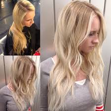 Brassy Yellow Blonde With Brown Ends