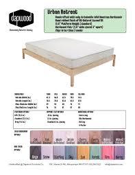 urban retreat furniture. Urban Retreat Spec Sheet Furniture S