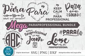 ✅ download free mono or multi color vectors for commercial use. Paraprofessional Svg Para Svg Paraprofessional Svg Bundle 377369 Cut Files Design Bundles