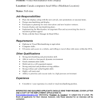 Bunch Ideas Of Visual Merchandising Manager Cover Letter For Inside