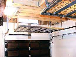 suspended shelves from ceiling suspended shelves from ceiling tool organizer garage tidy over garage storage best