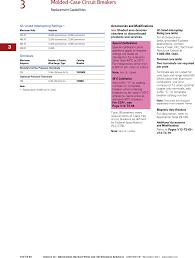 Ul Classified Circuit Breaker Replacement Chart Ca08100014e 79035 Catalog