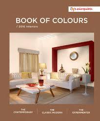 Colour Booklet Of Asian Paints L