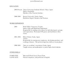 Hotel Management Resume Format Magnificent Resume Format Hotel Management Templates Lovely Bar 11