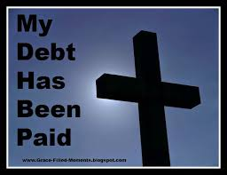 Image result for images of sin's debt