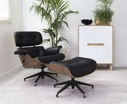replica eames lounge chair and ottoman black. eames chair replica and thrive furniture reviews also · lounge ottoman black