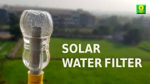 How To Filter Water At Home How To Make A Solar Water Filter At Home Youtube