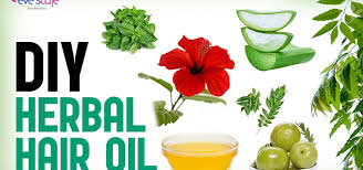 herbal hair oil preparation for hair