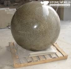 Stone Ball Garden Decoration Fascinating China Red Balmoral Polished Granite Ball Carving For Garden