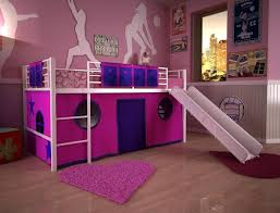 bunk bed with slide for girls. Daring Girl Bunk Beds With Slide For Teenage Girls Bed L