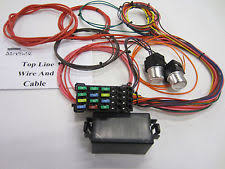 chevy truck wiring harness 14 circuit 12 fuse universal wiring harness car truck streetrod chevy