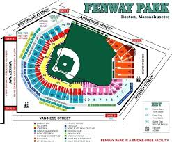 Unmistakable Gillette Seat Map Fenway Seating Chart Emc Club