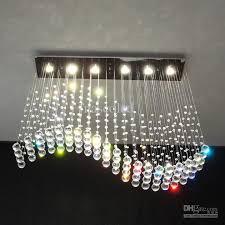 magnificent chandelier ceiling lights modern wave crystal pendant light ceiling lamp rain drop chandelier ceiling lights