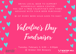 Get started today with your crowdfunding page! Valentine S Day Movie Night Fundraiser At Winter Hill Brewery 2 5 Somerville Media Center