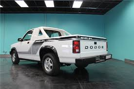 1989 DODGE SHELBY DAKOTA PICKUP SERIAL #1