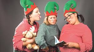 a christmas story in maltese for all ages the cast of fil Ħanut tal pupi