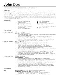 professional software developer templates to showcase your talent resume templates software developer