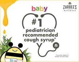 Zarbees Naturals Baby Cough Syrup Mucus With Agave Ivy
