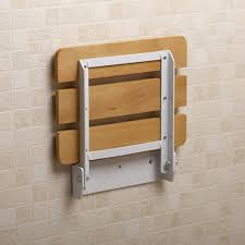 small bathroom spaces with wood wall mounted folding shower seats throughout fold down shower seat the