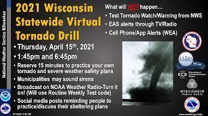 Wisconsin Statewide Tornado Drill ...