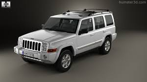 360 view of Jeep Commander (XK) Limited 2006 3D model - Hum3D store