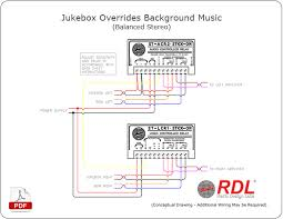 how to jukebox override background music radio design labs jukebox overrides background music balanced stereo