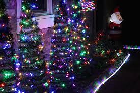 BlisslightsSpacesEclecticwithaccentlightsbackyardlighting Christmas Lights In Backyard