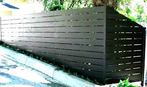 metal privacy fence corrugated cost designs how to install a