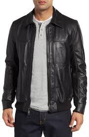 50s men s jackets jackets leather er gaberdine mens andrew marc vaughn