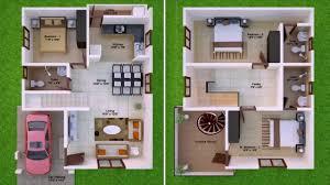 duplex house plans for 20x30 site south facing