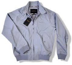 New Ben Sherman Mod Retro Harrington Jacket Storm Grey