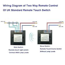 touch lamp control switch wiring diagram touch lamp control wiring diagram wiring diagram of standard remote control touch scene switch lampuga df touch lamp control wiring diagram