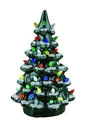 Ceramic Christmas Light Up Tree Transpac Imports D0181 Ceramic Light Up Nostalgic Tree Decor Green
