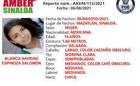 missing 14-year-old girl in La Sirena ...