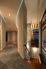 cove ceiling lighting. Ceiling Cove Lighting Hallway Lights Hall Contemporary With  Curved Wall Image By Architects .