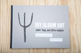 Diy office art Art For Work The Cover Utilizes Debossing With Foilstamping On Exposed Bookboard To Evoke Letterpress Feeling The Credits Are Stickers Gesture That References Behance Diy Album Art Paper Bags Office Supplies Book On Behance