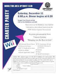 pnw optimist clubs  it s a wii charter party