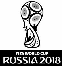 Kleurplaat Wereldkampioenschap Voetbal 2018 Logo Rusland 2018 5