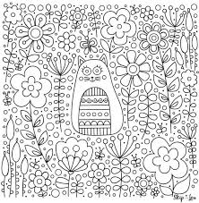 Grab this pattern for free printable flowers. Flower Coloring Pages Skip To My Lou