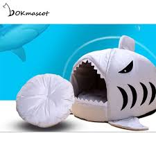 Vokmascot <b>Dog</b> House <b>Shark Cat Dog</b> Bed for Small and Large ...