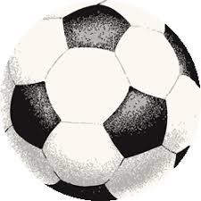 さっかーぼーるno280 ブラシタッチサッカーボールのイラスト