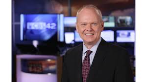 cbs 42 s jim dunaway preparing for final show at anchor desk on wednesday may 23