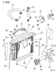 1995 jeep grand cherokee radiator related parts thumbnail 1